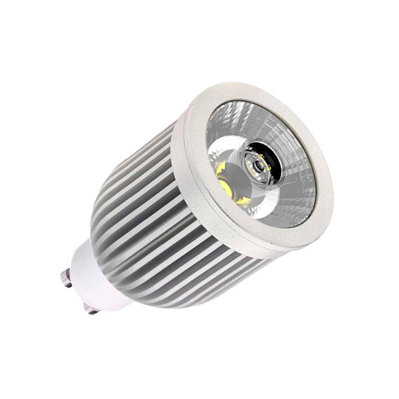 Bombilla LED GU10-COB, 7W, Blanco neutro